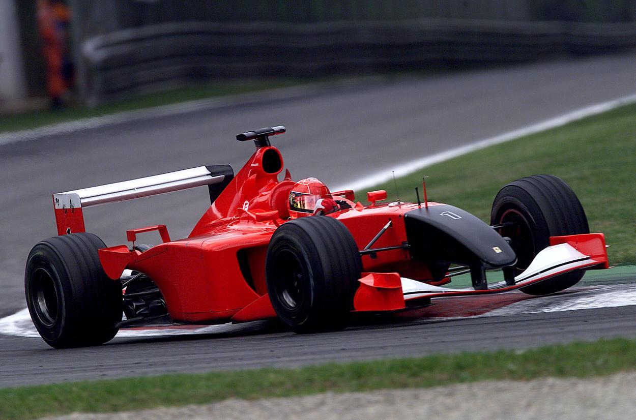 Ferrari y un livery especial con motivo del 11-S. Imagen: Reuters.