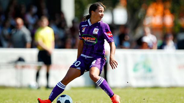 Kerr has started well for the Glory this season | Source: perthglory.com.au