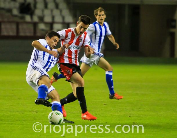 Merquelanz trata de superar a Paredes | Foto: riojapress.com