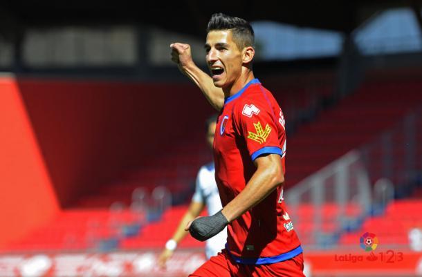 Pere Milla, eufórico tras un gol | Imagen: LaLiga