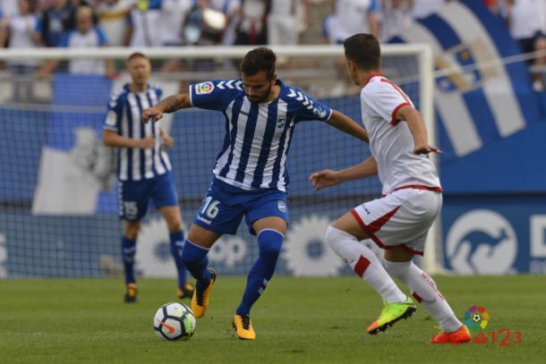 El valenciano ha vuelto con mucha energía. | Foto: laliga.es