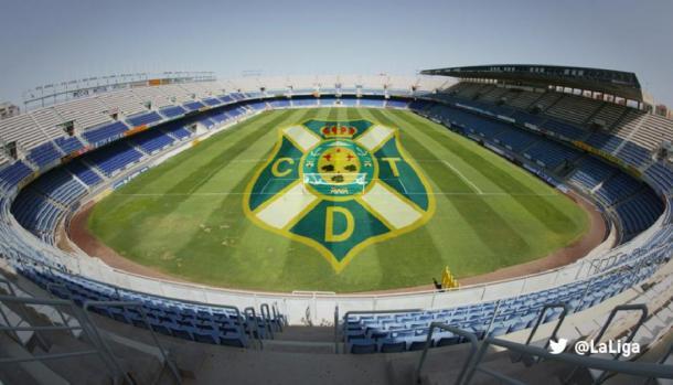 Estadio Heliodoro Rodríguez López en Tenerife. | Foto: LaLiga
