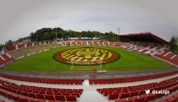 Estadio de Montilivi en Girona. | Foto: LaLiga
