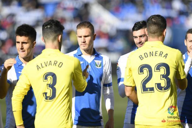 Último enfrentamiento entre Leganés y Villarreal   Foto: LaLiga