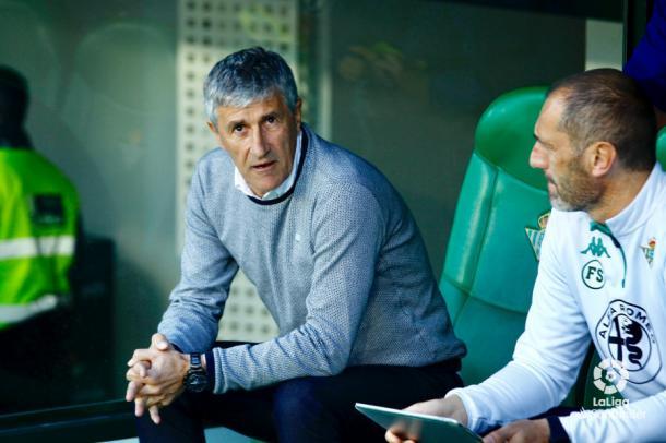Quique Setién | Foto: La Liga Santander
