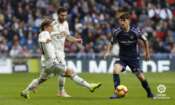 Toni Villa en el Bernabéu | LaLiga