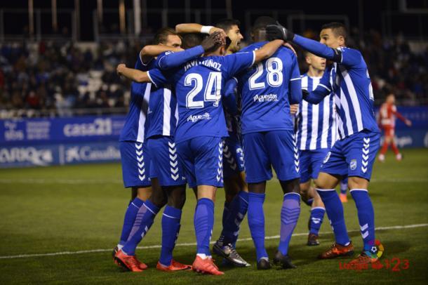 El Lorca FC sigue en busca de motivación. |Foto: laliga.es