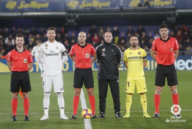 González Fuertes pitó al Real Madrid ante Villarreal I Foto: LaLiga