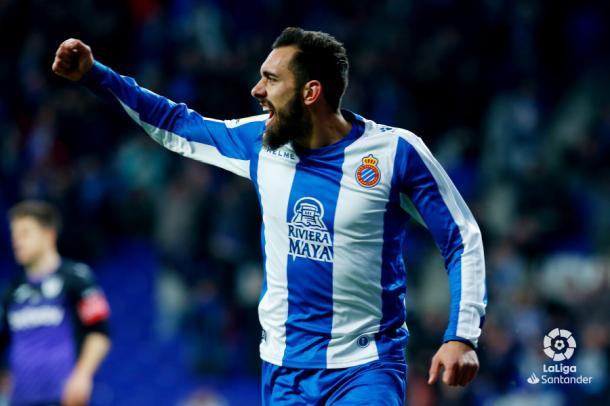 Último gol de Borja Iglesias frente al Leganés | Foto: LaLiga