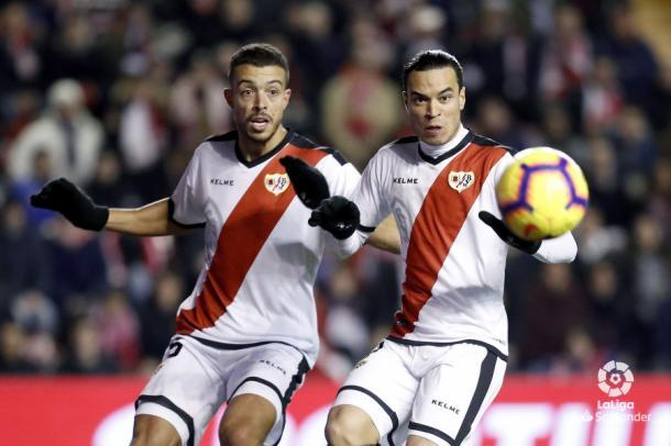 Franco Di Santo y Raúl de Tomás | Fotografía: La Liga