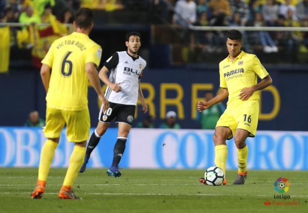 El Villarreal venció el último derbi ante el Valencia (1-0) | Foto: web oficial de La Liga
