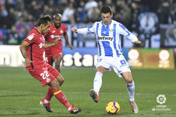 Vesga será de la partida frente al Celta   Foto: LaLiga Santander