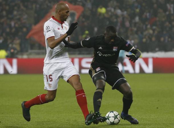 El Sevilla visitó Lyon la pasada temporada en Europa League / Foto: La Liga