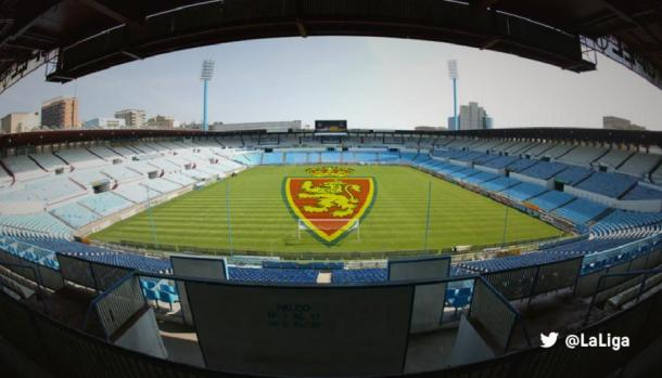 Estadio La Romareda en Zaragoza. | Foto: LaLiga