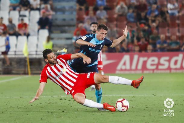 Iván Martos necesita competencia en el lateral izquierdo | Fuente: La Liga