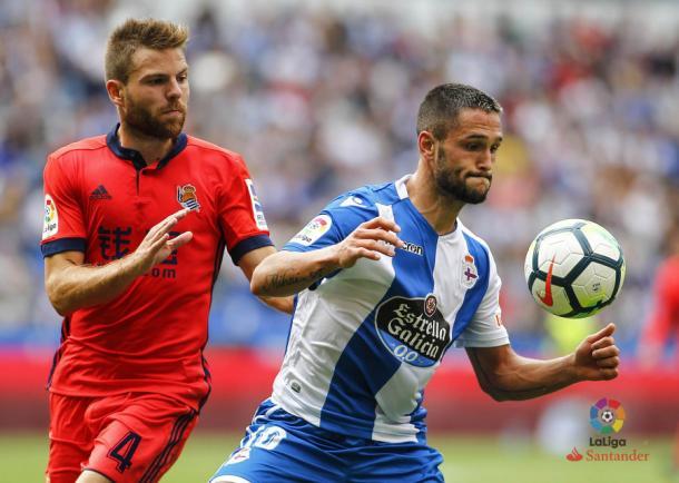 Illarramendi, en el partido contra el Deportivo | Imagen: LaLiga