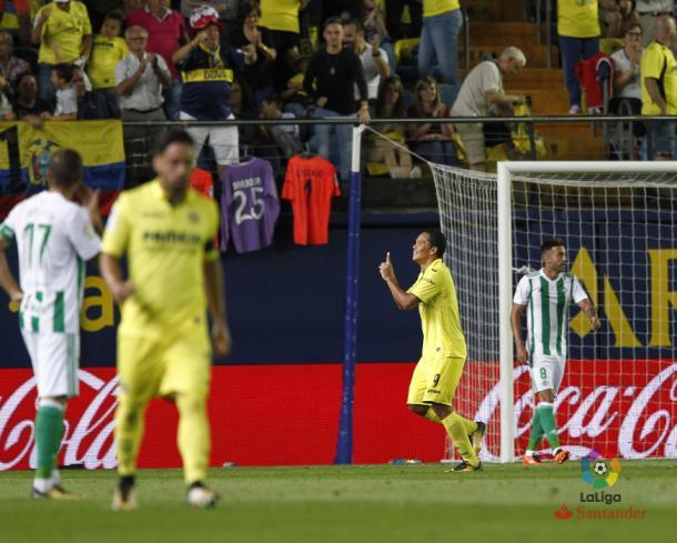 Bacca marcó su primer gol como groguet  |  Fotografía: LFP