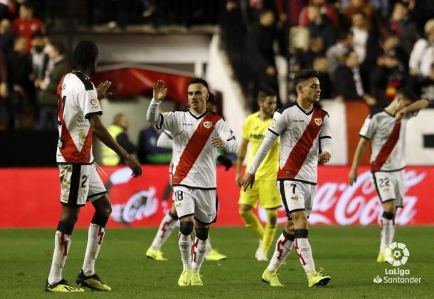 Álvaro García celebrando un gol | Fotografía: La Liga