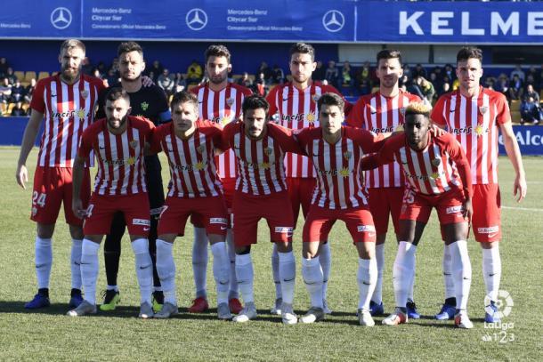 El once titular frente al Alcorcón | Fuente: La Liga