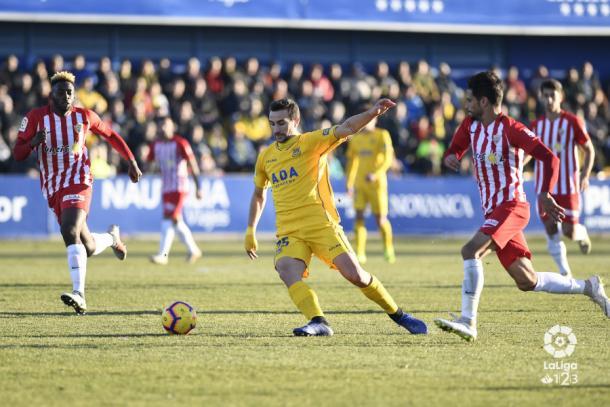 El Almería hizo un partidazo en defensa | Fuente: La Liga