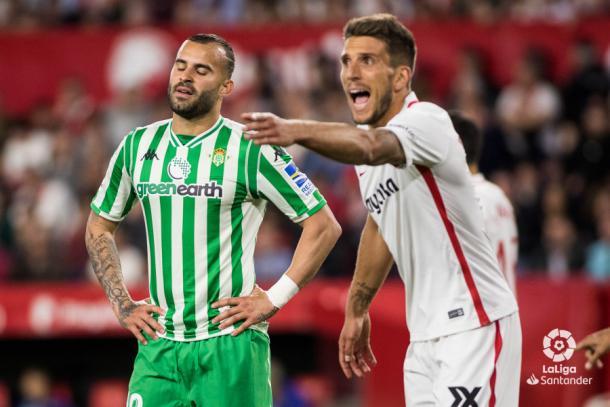 Jesé lamentandose de un fallo | fotografía: LaLiga Santander