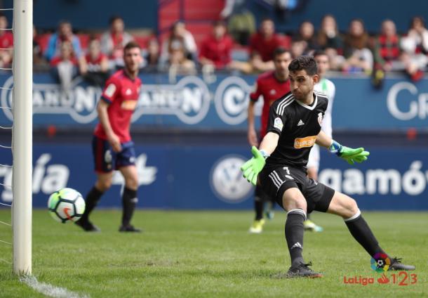 Sergio Herrera. Foto: La Liga 123