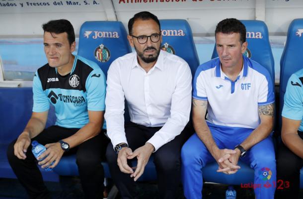 José Bordalás, entrenador del Getafe CF. | Foto: LaLiga