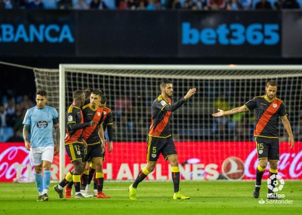 Catena celebrando uno de los goles | Fotografía: La Liga