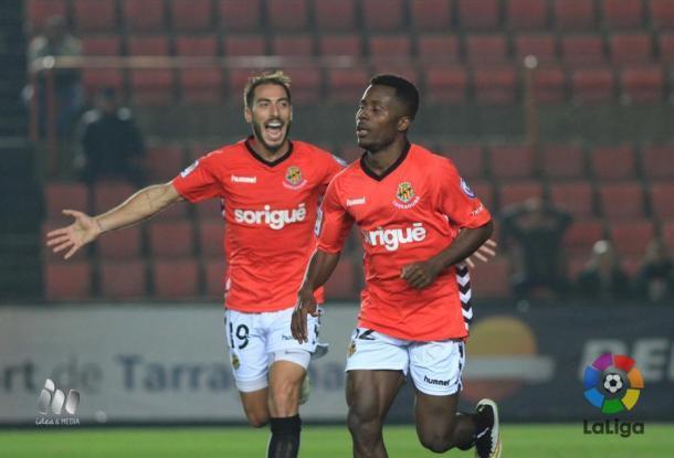 El costamarfileño marcó un gol y dio una asistencia frente al Zaragoza hace tres jornadas  |  Fotografía: LFP