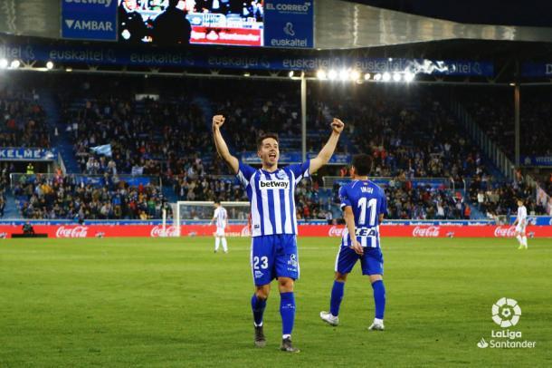 Joni celebra su gol | LaLiga