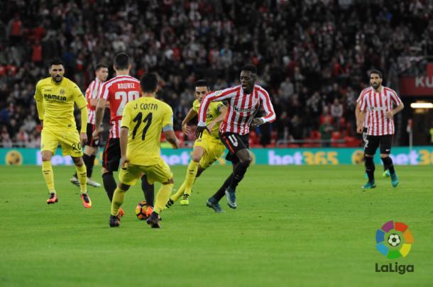El Athletic venció al Villarreal en la última jornada de Liga, siendo superior y con gol del atacante bilbaíno de origen ghanés Iñaki Williams