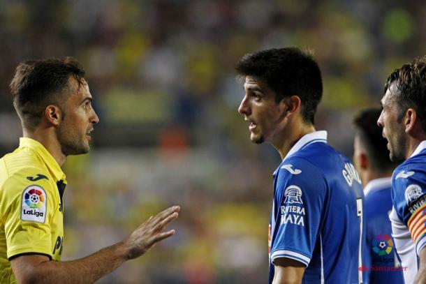 Gerard Moreno en la última visita al Estadio de la Cerámica / Foto: Villarreal CF