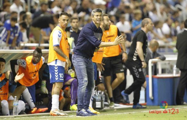José Luis Martí, entrenador del CD Tenerife. | Foto: LaLiga