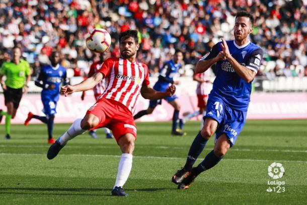 Romera frente al Córdoba | Fuente: La Liga