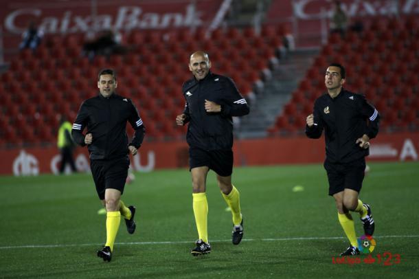López Amaya antes del RCD Mallorca - Levante | Foto: LaLiga