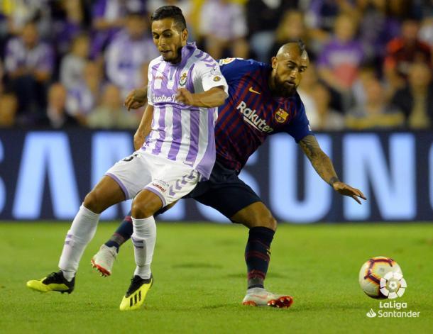 Anuar cubre a Vidal | LaLiga