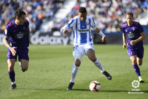 Leganés vs Celta | Foto: La Liga Santander