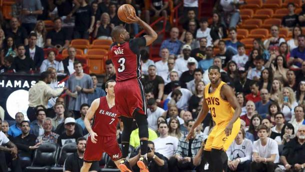 Dwyane Wade crossed 20,000 career points in Saturday's win against the Cleveland Cavaliers. (Lynne Sladky/AP Photo)