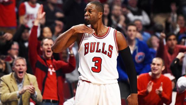 Dwyane Wade will look to make another championship run with his new team. Photo: Stacy Revere, Getty Images.