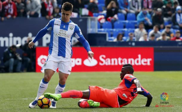 Junto con Ochoa, Wakaso fue lo más destacado del Granada en la primera. (Foto: LFP)