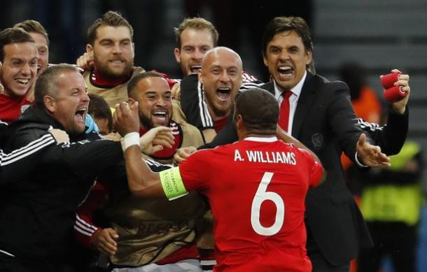 Wales' journey has been one of the stories of the tournament | Photo: Mirror