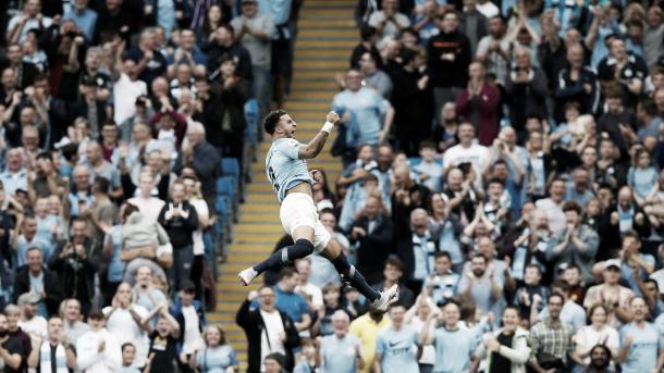 Walker le dio el triunfo al City. Foto: Premier League.
