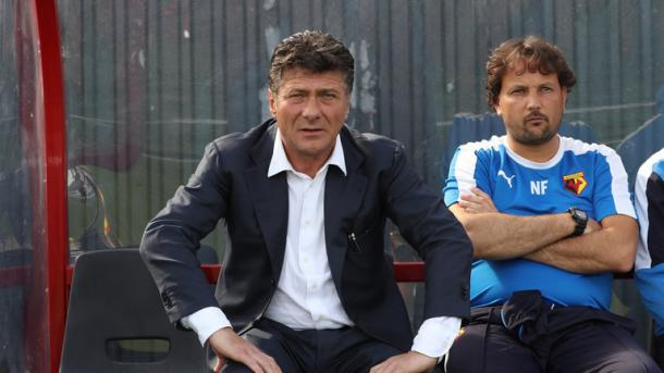 Mazzarri took charge of his first game at the weekend (Photo: Getty Images)
