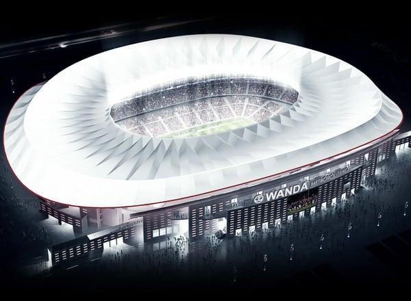 Estadio Wanda Metropolitano   Foto: atleticodemadrid.com