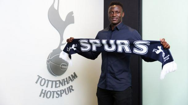 Victor Wanyama is one of two headline addition's (photo: THFC)