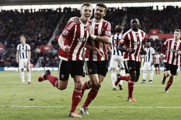 The last time Southampton scored over one goal in a match is back in January against West Brom (photo source: getty images)