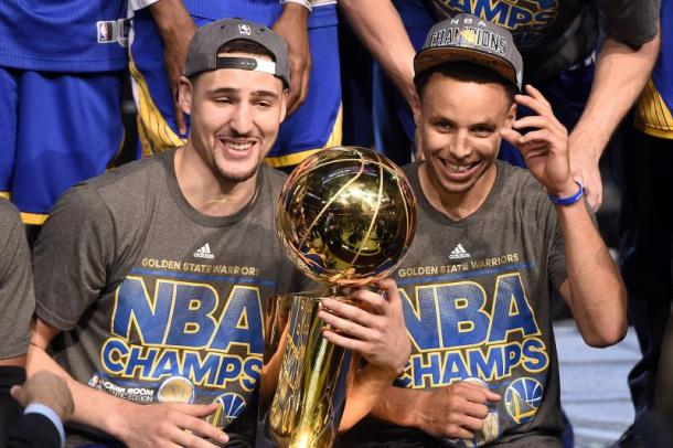 It remains to be seen if the Warriors can complete their postseason dominace as they look to become NBA champions once again. Photo: Bob Donnan-USA TODAY Sports
