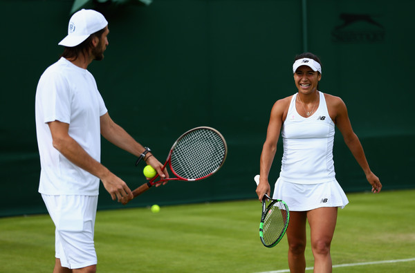 Watson with her former coach, Diego Veronelli (Source: Zimbo)