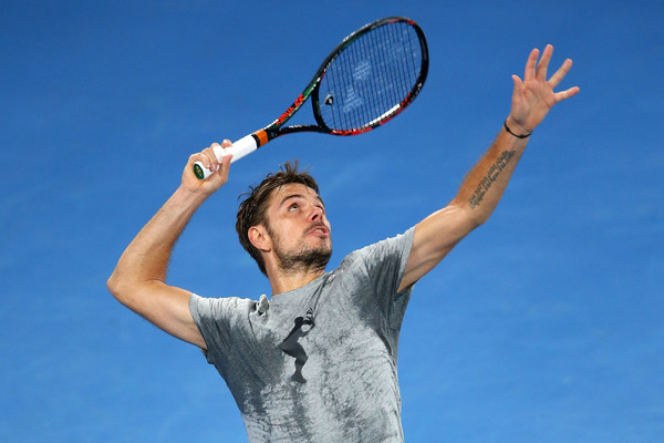 Wawrinka will be searching for his second Grand Slam singles title at the Australian Open (Photo by Michael Dodge / Getty Images)