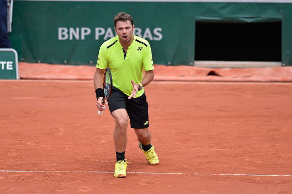 It wasn't all plain sailing for Wawrinka at times (Photo: Getty Images/Aurelien Meunier)